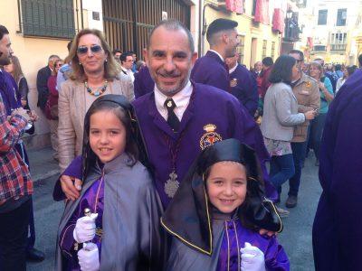 Atuendos de Semana Santa de Málaga